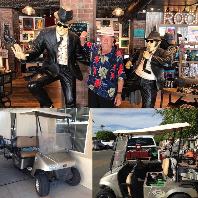 Golf Cart Garage - June 2017 Golf Cart Customer Cart - Ken Marler